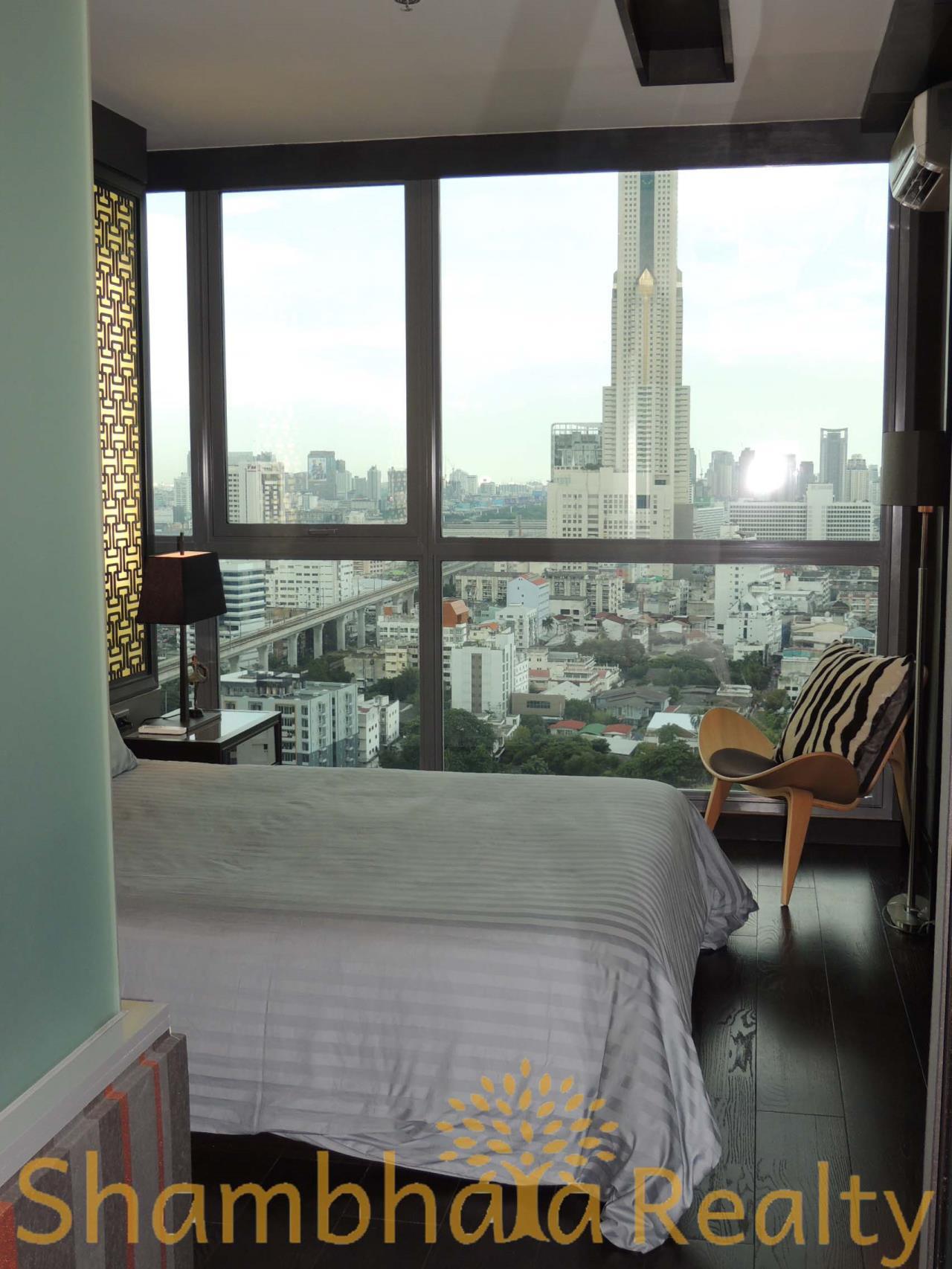 Shambhala Realty Agency's Ideo Q Phayathai Condominium for Rent in Phayathai 1