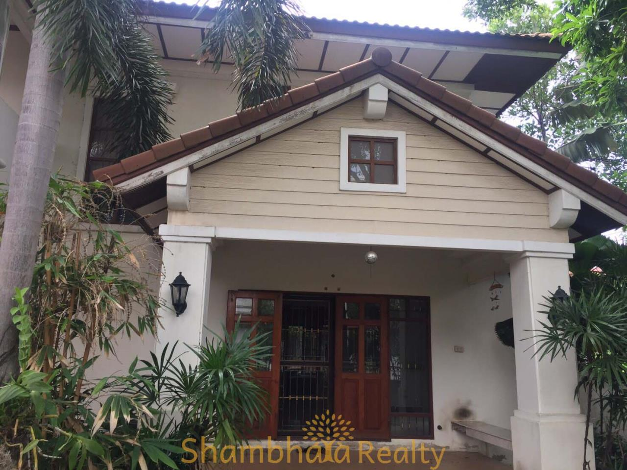 Shambhala Realty Agency's house is near Suvarnabhumi airport Condominium for Sale in Andress is 21 Romklow road 19/1 Kwangklongsam pravet, Khet Ladkrabang, Suvarnabhumi airport 7