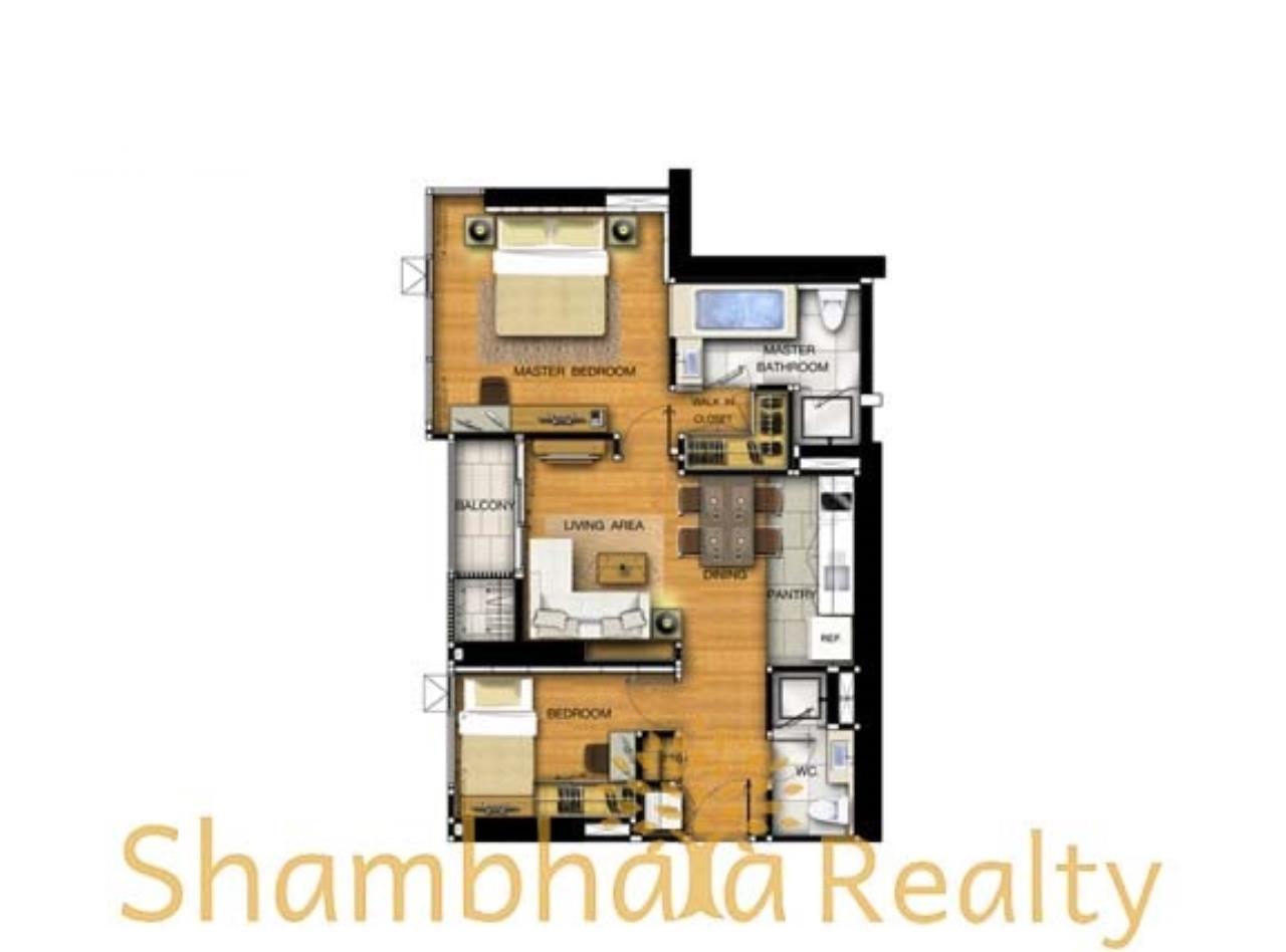 Shambhala Realty Agency's The Address Asoke Condominium for Sale/Rent in New Phetchaburi 16