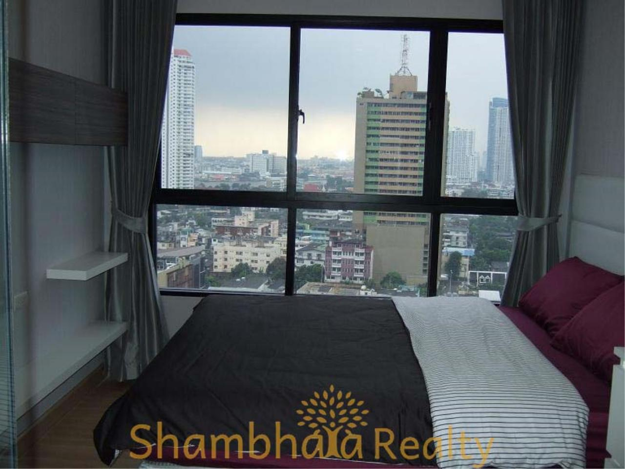 Shambhala Realty Agency's Urbano Absolute Sathon Taksin Condominium for Rent in Krung Thonburi 1