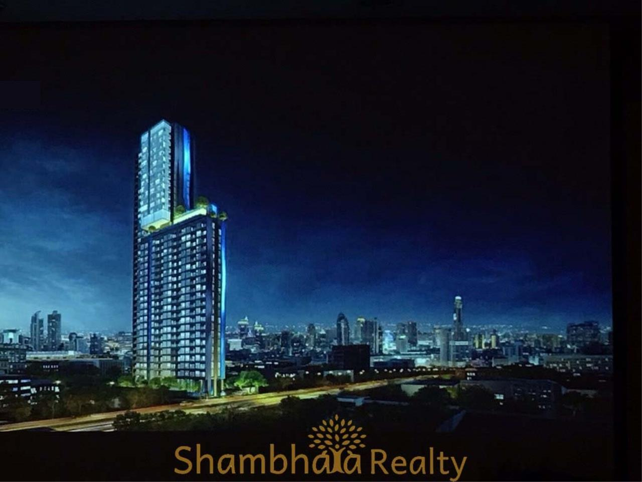Shambhala Realty Agency's The Line Asoke Ratchada Condominium for Sale in Rama 9 2