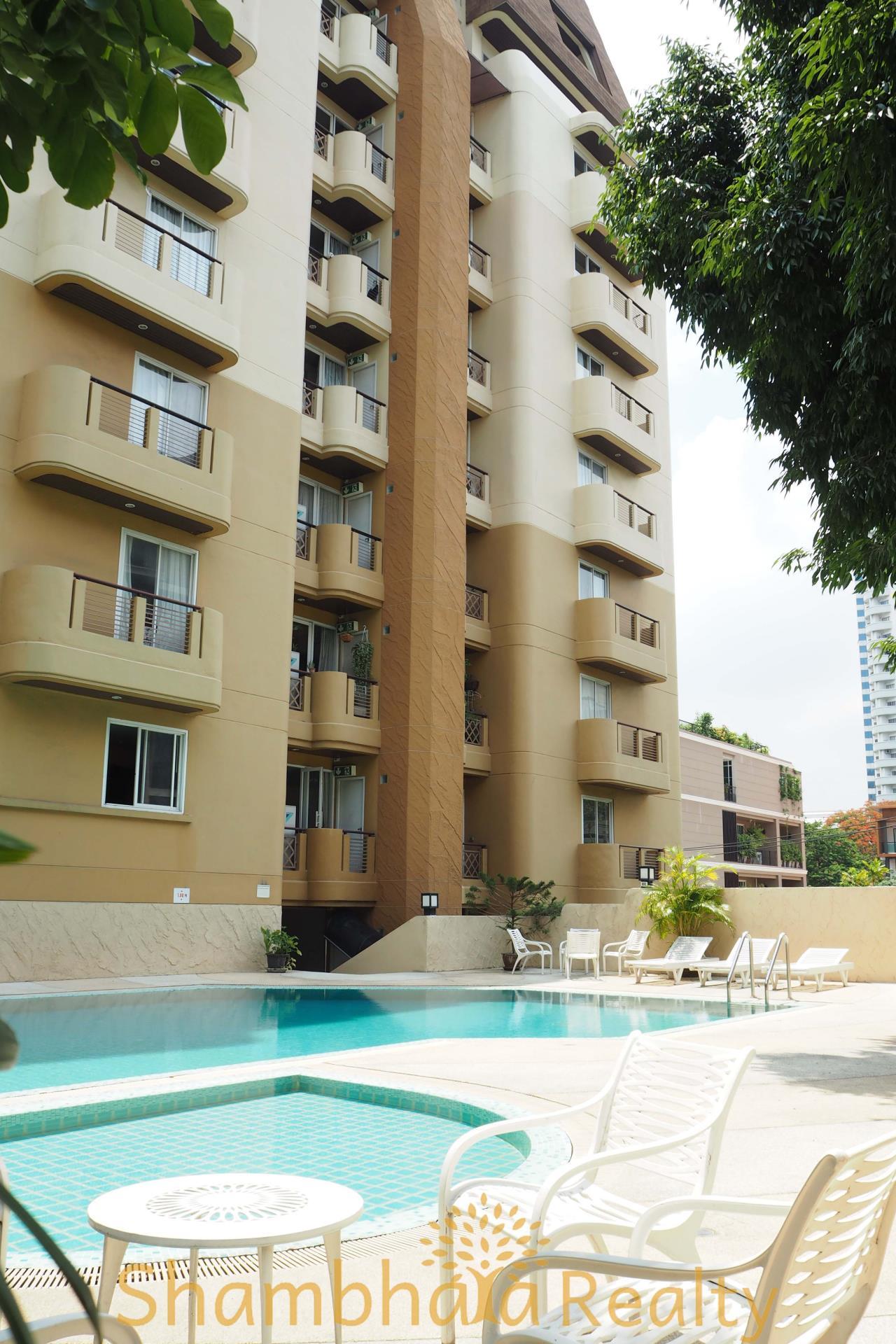 Shambhala Realty Agency's Nagara Mansion Condominium for Rent in Soi Nailert 8