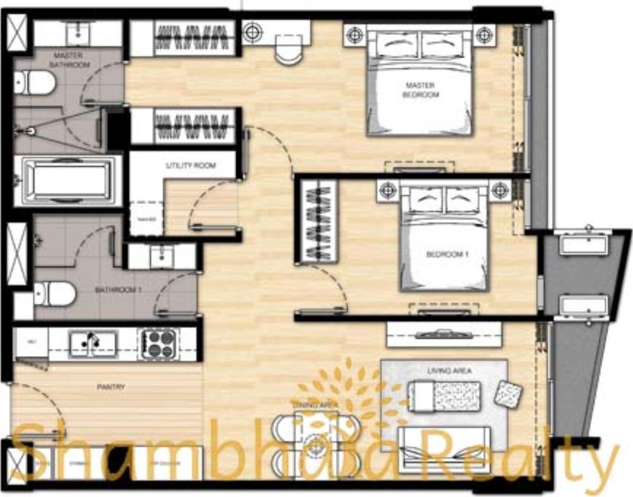 Shambhala Realty Agency's Liv@49 Condominium for Rent in Sukhumvit 49 24
