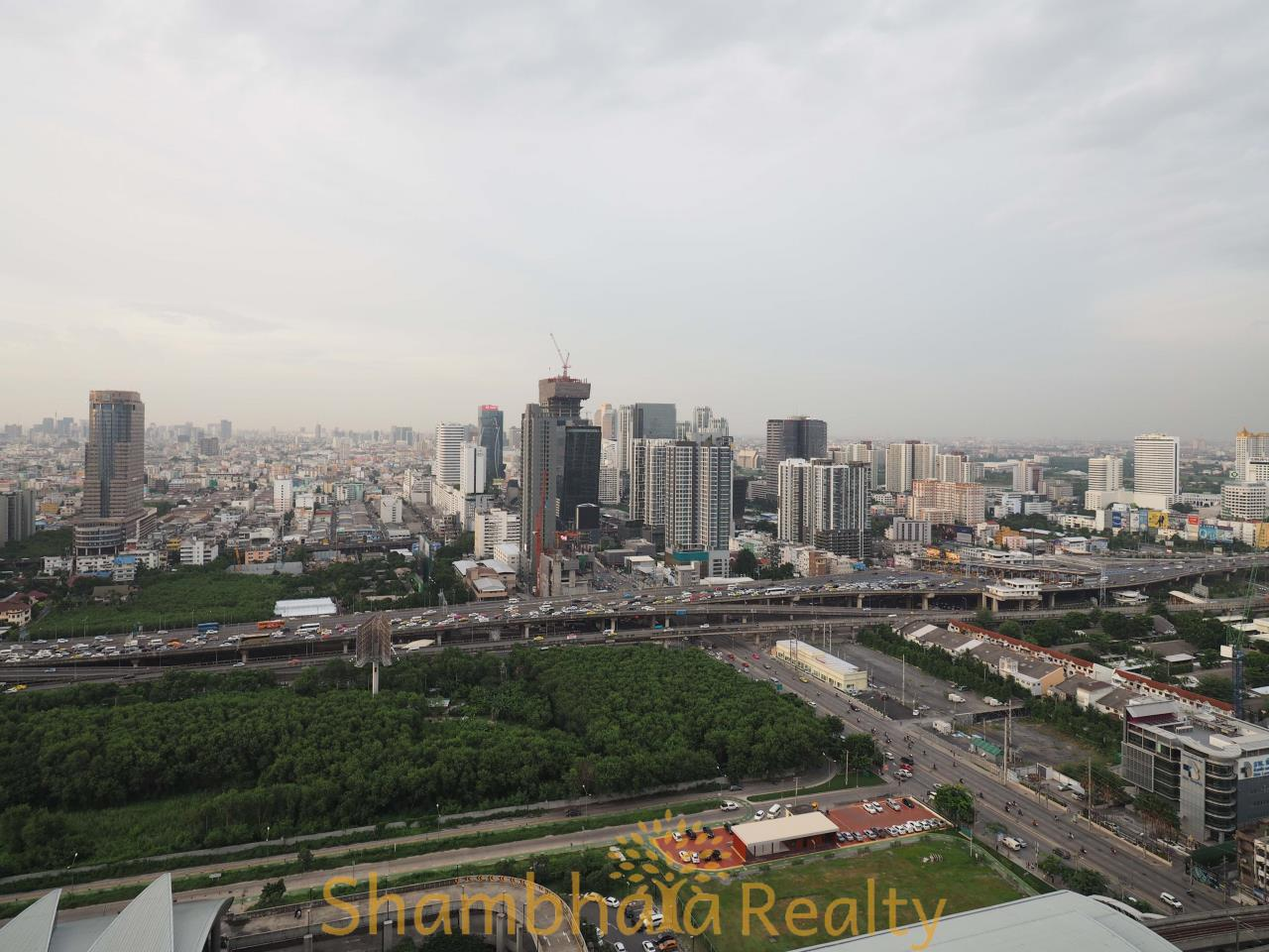 Shambhala Realty Agency's The Address Asoke Condominium for Rent in Petchaburi-tudmai 12