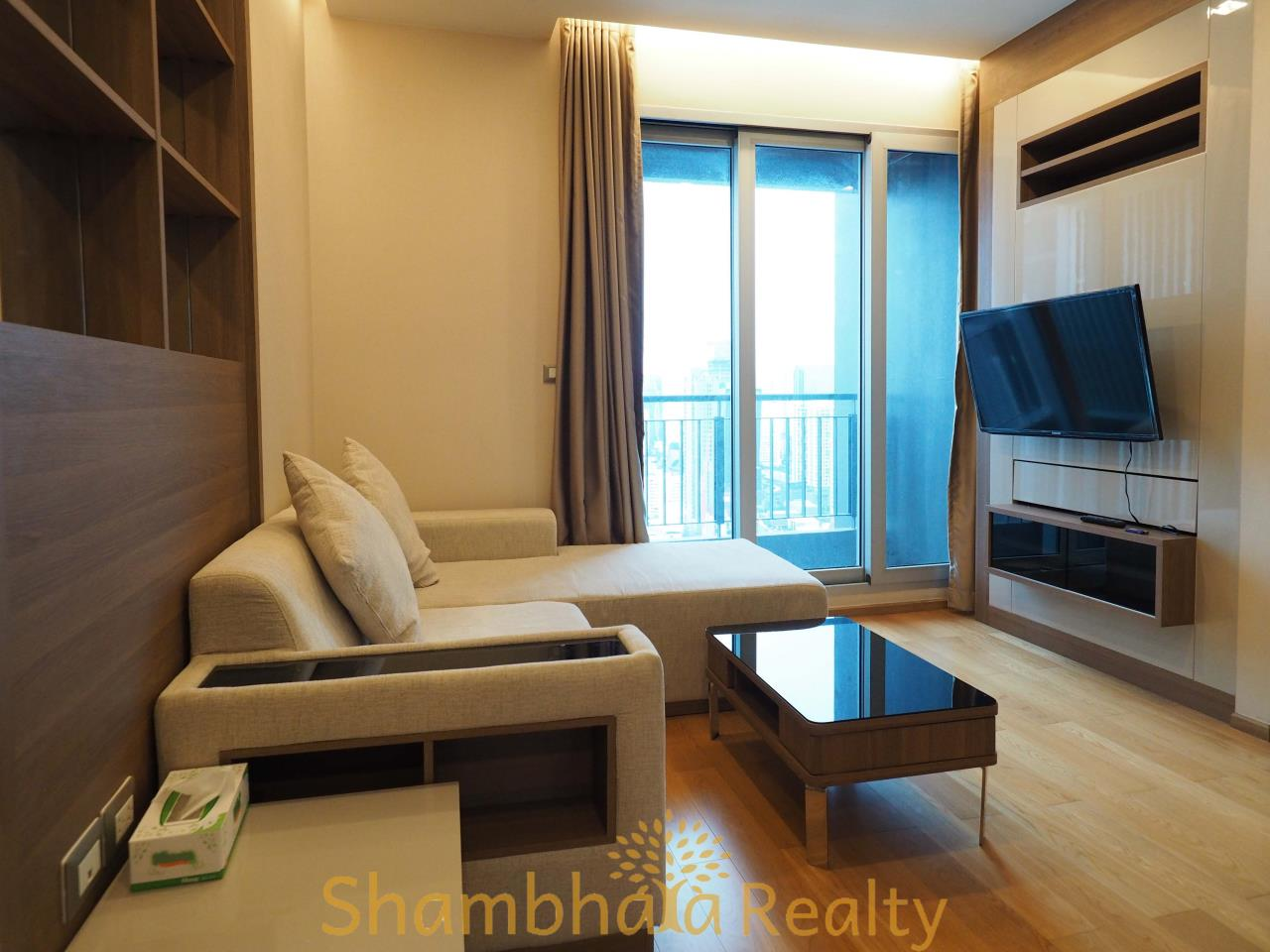 Shambhala Realty Agency's The Address Asoke Condominium for Rent in Petchaburi-tudmai 6
