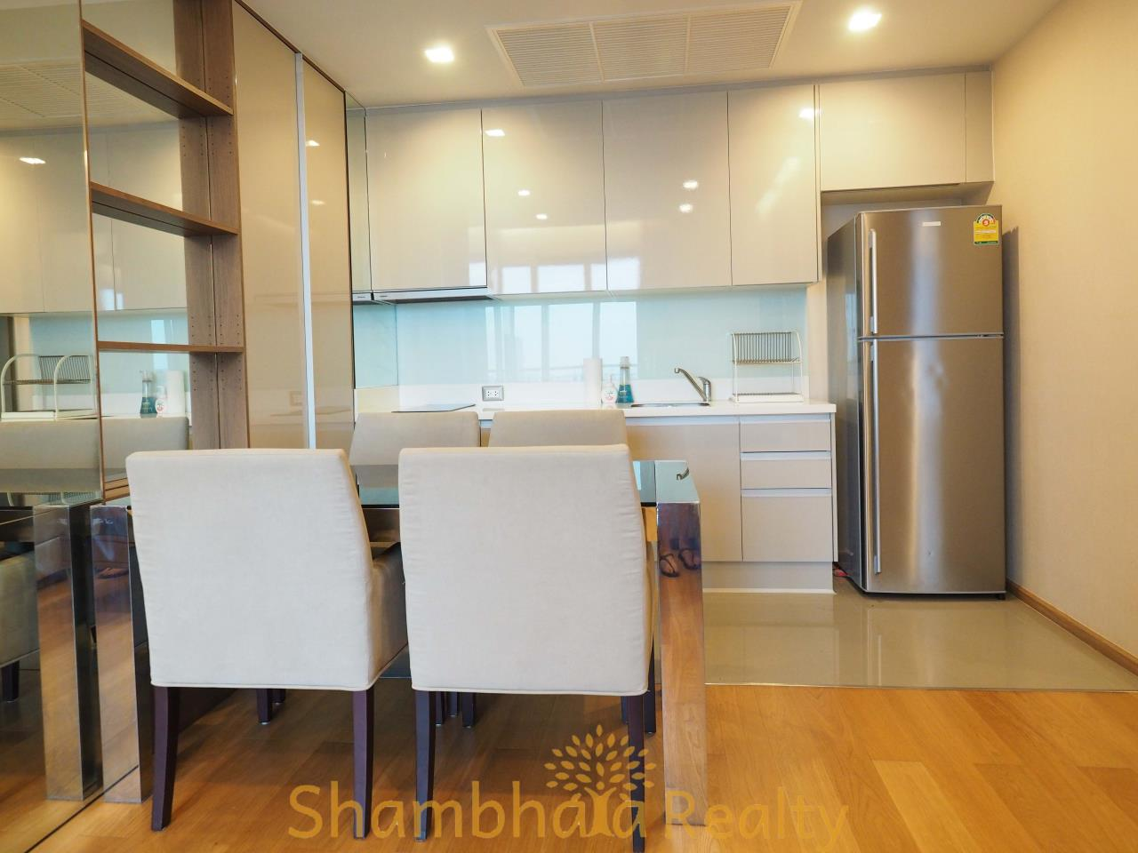 Shambhala Realty Agency's The Address Asoke Condominium for Rent in Petchaburi-tudmai 4