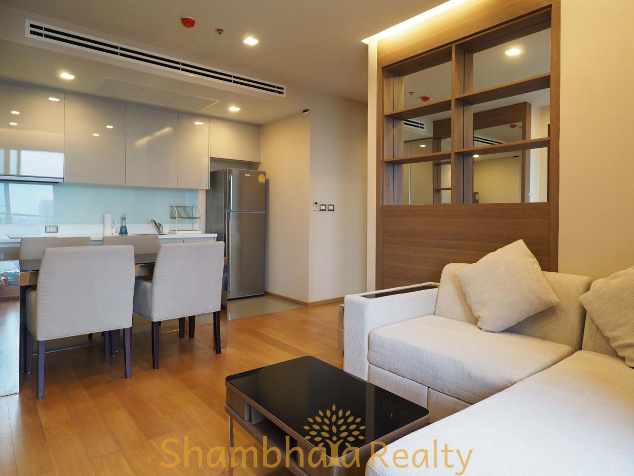 Shambhala Realty Agency's The Address Asoke Condominium for Rent in Petchaburi-tudmai 7
