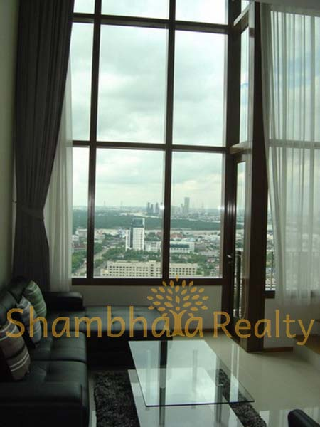 Shambhala Realty Agency's The Emporio Place 1 Bedroom Duplex River View 55K 4