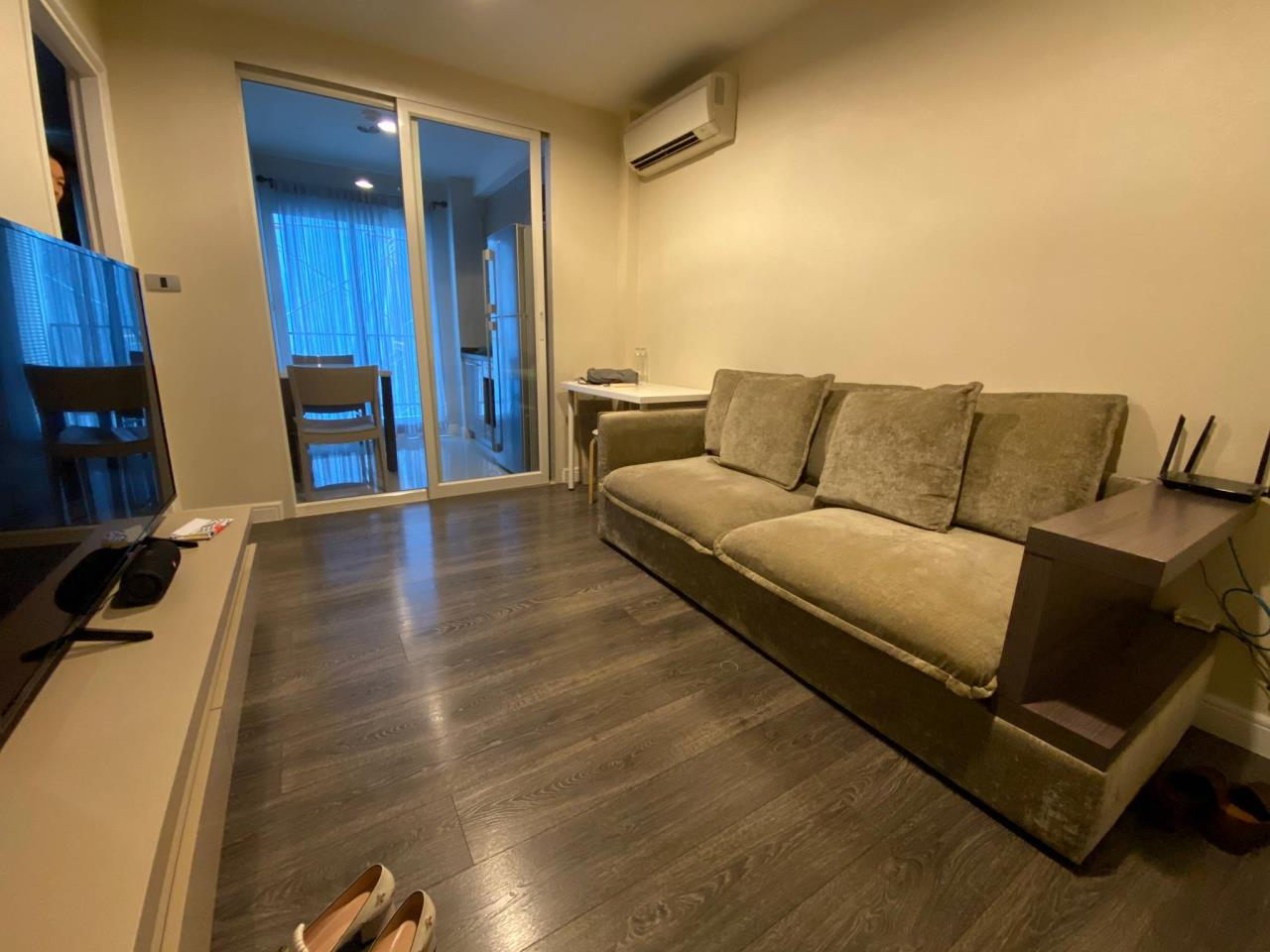 Agent - Phapayawarin Agency's For Rent  The Crest Sukhumvit 49, BTS  Thonglor , 1 bedroom1 bathroom, 35 sq.m. . 2