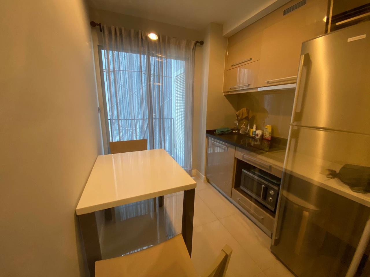 Agent - Phapayawarin Agency's For Rent  The Crest Sukhumvit 49, BTS  Thonglor , 1 bedroom1 bathroom, 35 sq.m. . 5
