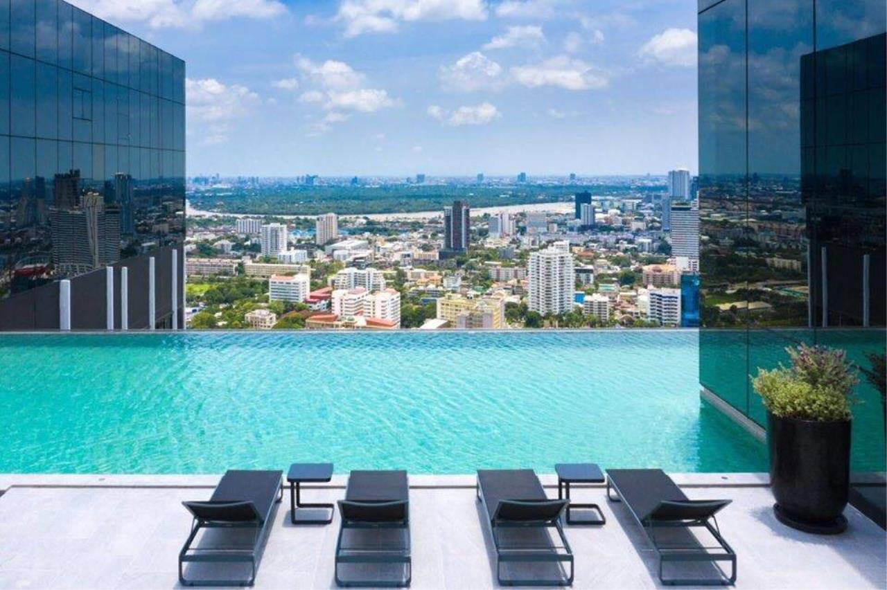 Agent - Phapayawarin Agency's For Rent ***Condo knights bridge prime Sathorn Duplex Unit  BTS Chong Nonsi , 45Sq.M,  1bed/1bath 12