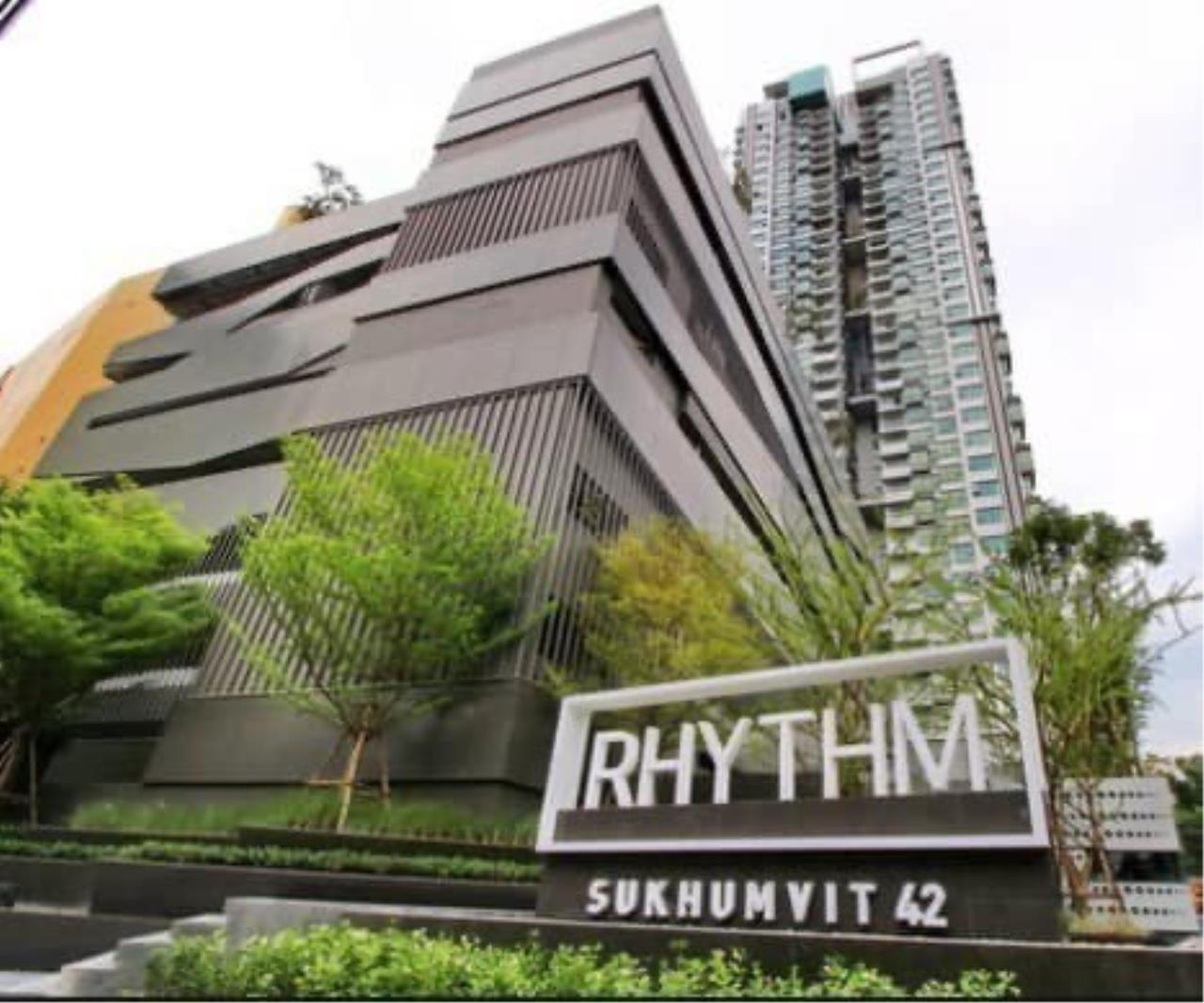 Agent - Phapayawarin Agency's For Rent***Rhythm Sukhumvit 42, 48 sq.m,1 bedroom 1 bathroom, BTS Ekamai 6