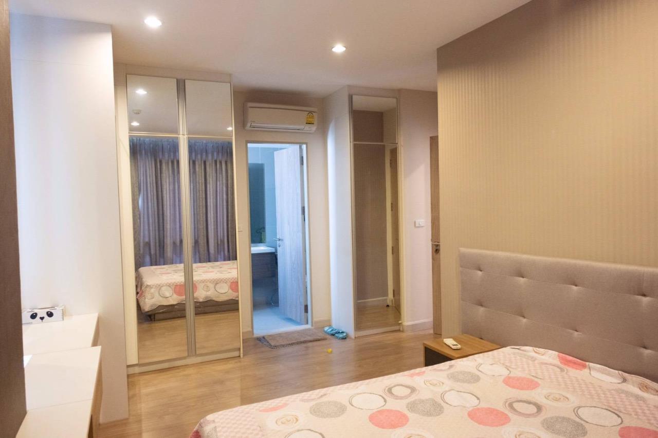 Agent - Phapayawarin Agency's For Rent***The Capital Ratchaprarop-Vibhavadi, 60 Sq.m., 2 Bedroom 2 Bathroom, Corner Unit  11
