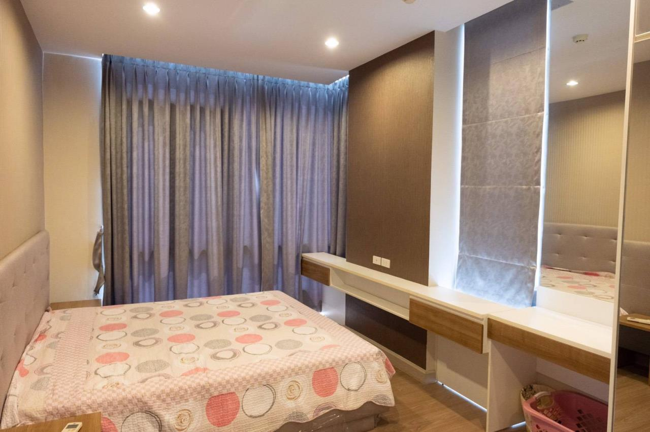 Agent - Phapayawarin Agency's For Rent***The Capital Ratchaprarop-Vibhavadi, 60 Sq.m., 2 Bedroom 2 Bathroom, Corner Unit  12