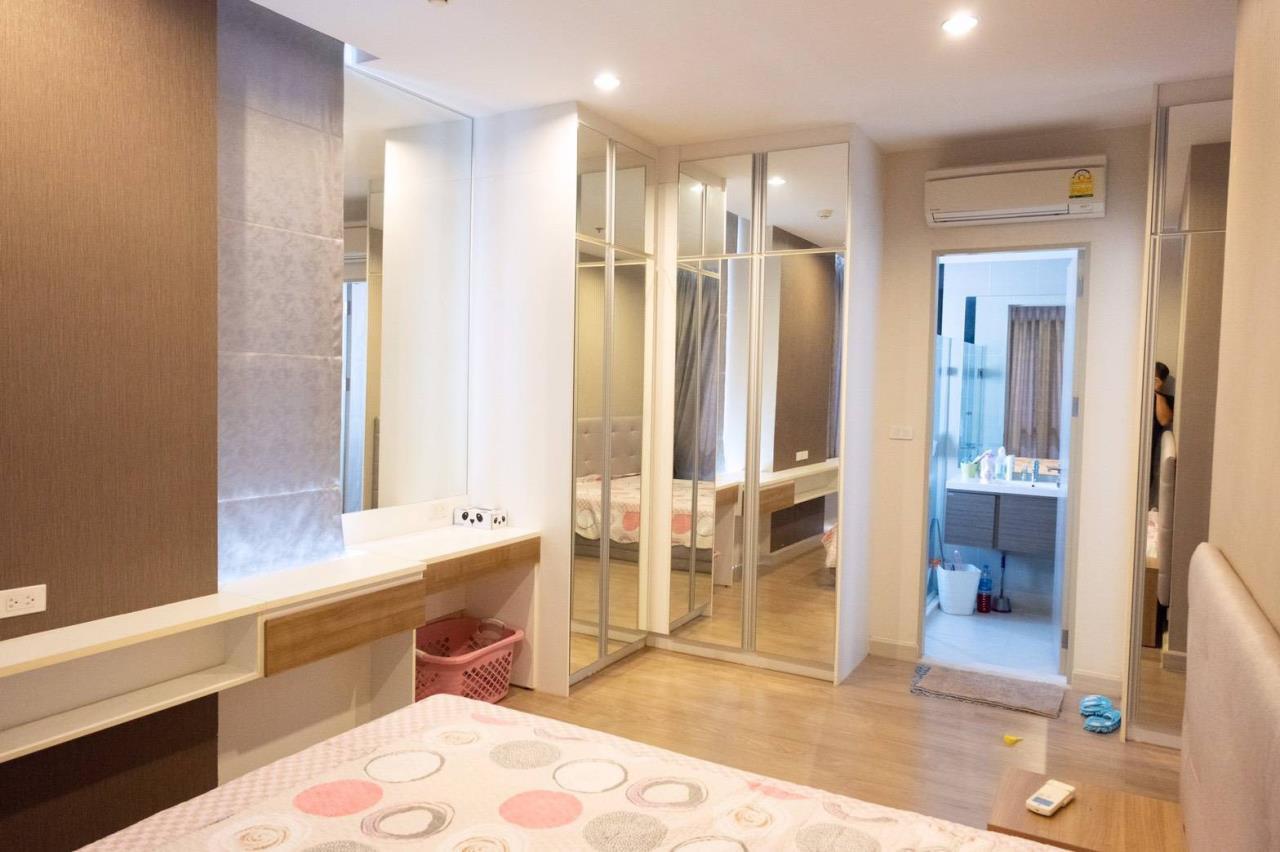 Agent - Phapayawarin Agency's For Rent***The Capital Ratchaprarop-Vibhavadi, 60 Sq.m., 2 Bedroom 2 Bathroom, Corner Unit  13