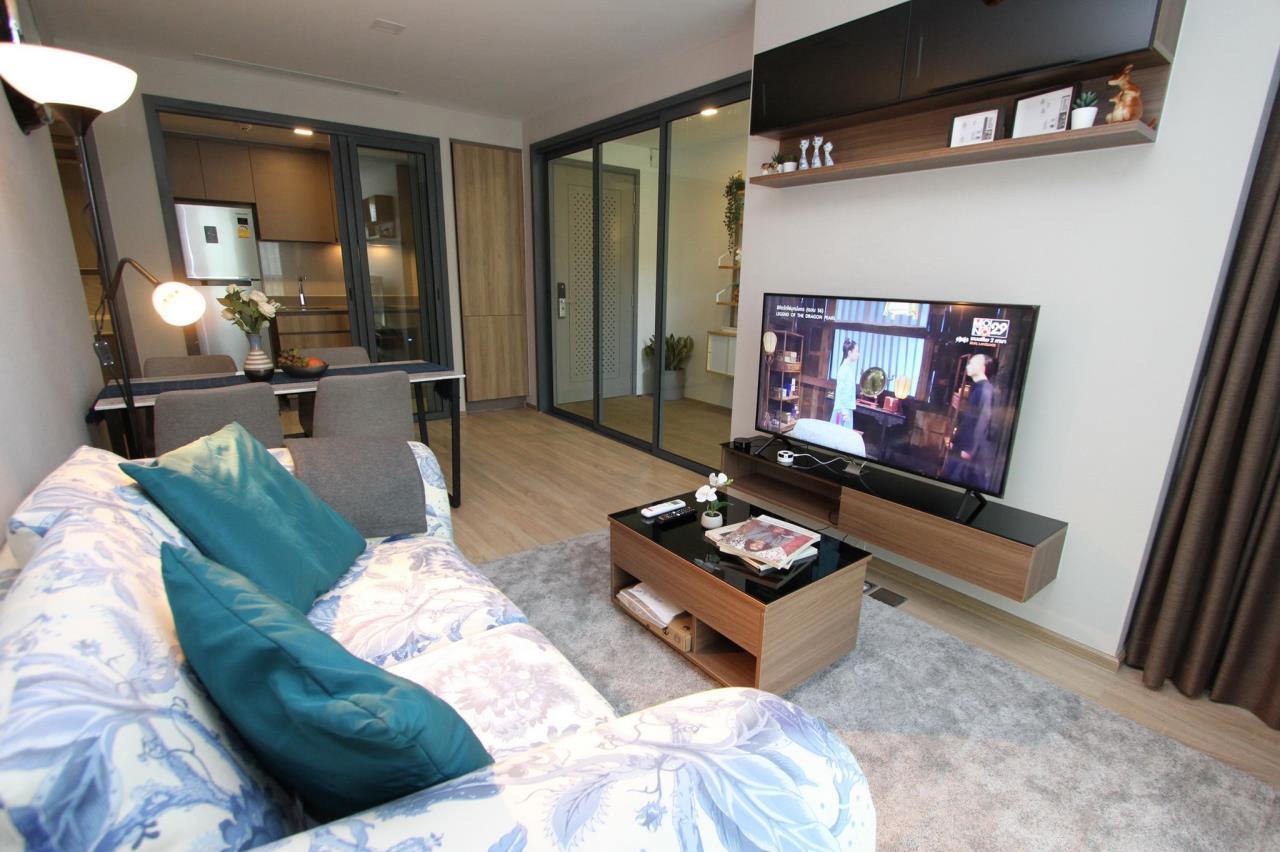 Agent - Phapayawarin Agency's Taka HAUS Ekkamai 10 For Rent/Sale, 67.32 Sq.m., 2 bedrooms 2 bathrooms, BTS Ekkamai  2