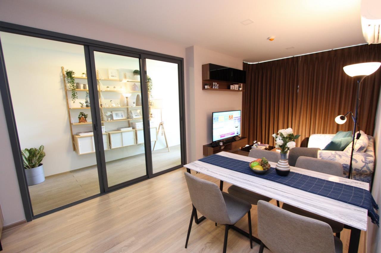 Agent - Phapayawarin Agency's Taka HAUS Ekkamai 10 For Rent/Sale, 67.32 Sq.m., 2 bedrooms 2 bathrooms, BTS Ekkamai  3