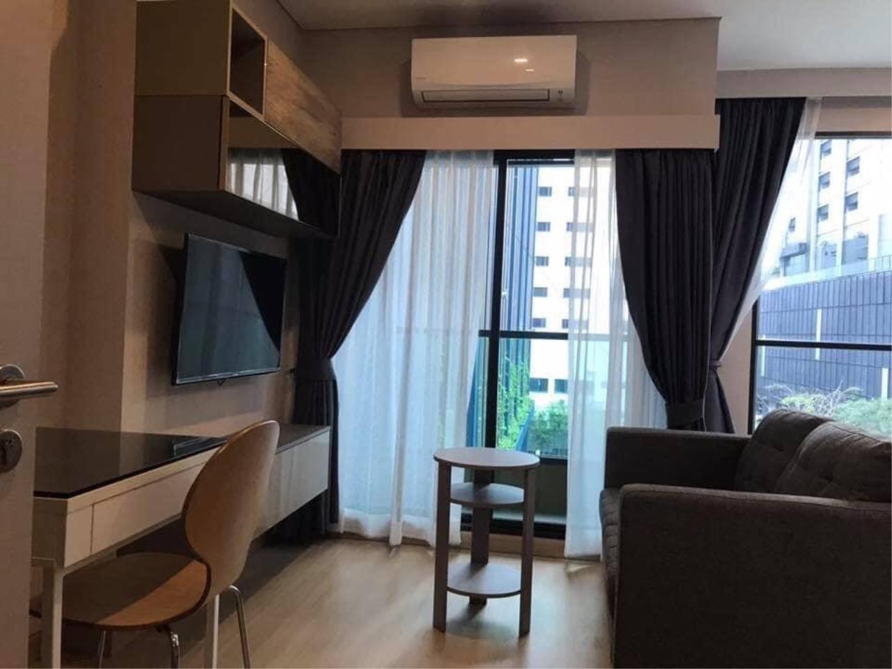 Agent - Phapayawarin Agency's Lumpini Suite Phetchaburi-Makkasan for Rent, Studio, 24 Sq.m., MRT Phetchaburi 2