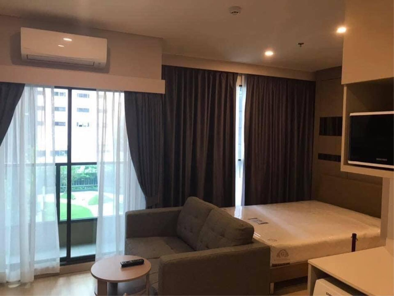 Agent - Phapayawarin Agency's Lumpini Suite Phetchaburi-Makkasan for Rent, Studio, 24 Sq.m., MRT Phetchaburi 3