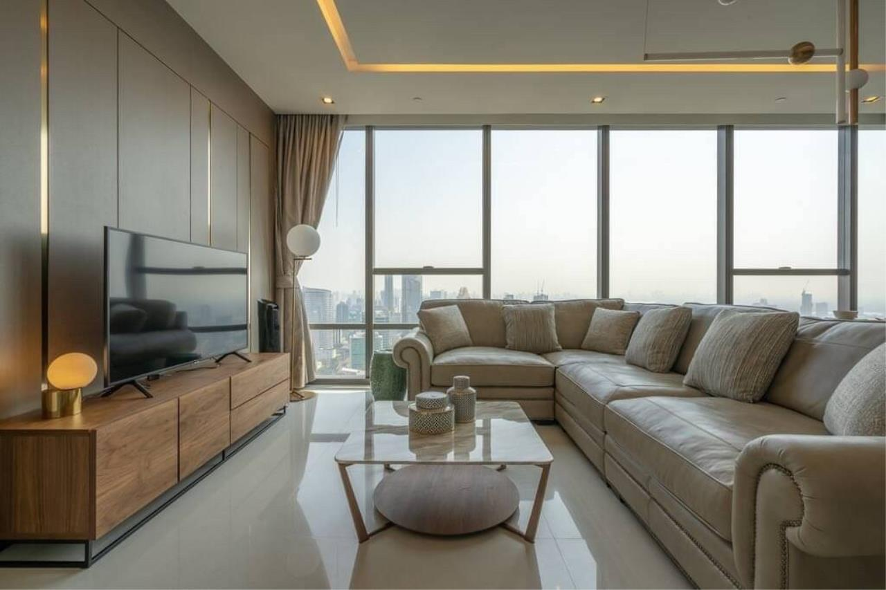 Agent - Phapayawarin Agency's The Bangkok Sathorn for Rent, 2 Bedrooms 2 Bathrooms, 130 Sq.m., BTS Surasak 1