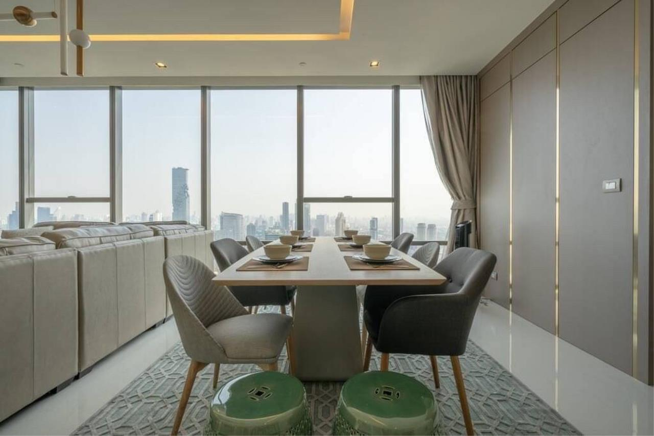 Agent - Phapayawarin Agency's The Bangkok Sathorn for Rent, 2 Bedrooms 2 Bathrooms, 130 Sq.m., BTS Surasak 2