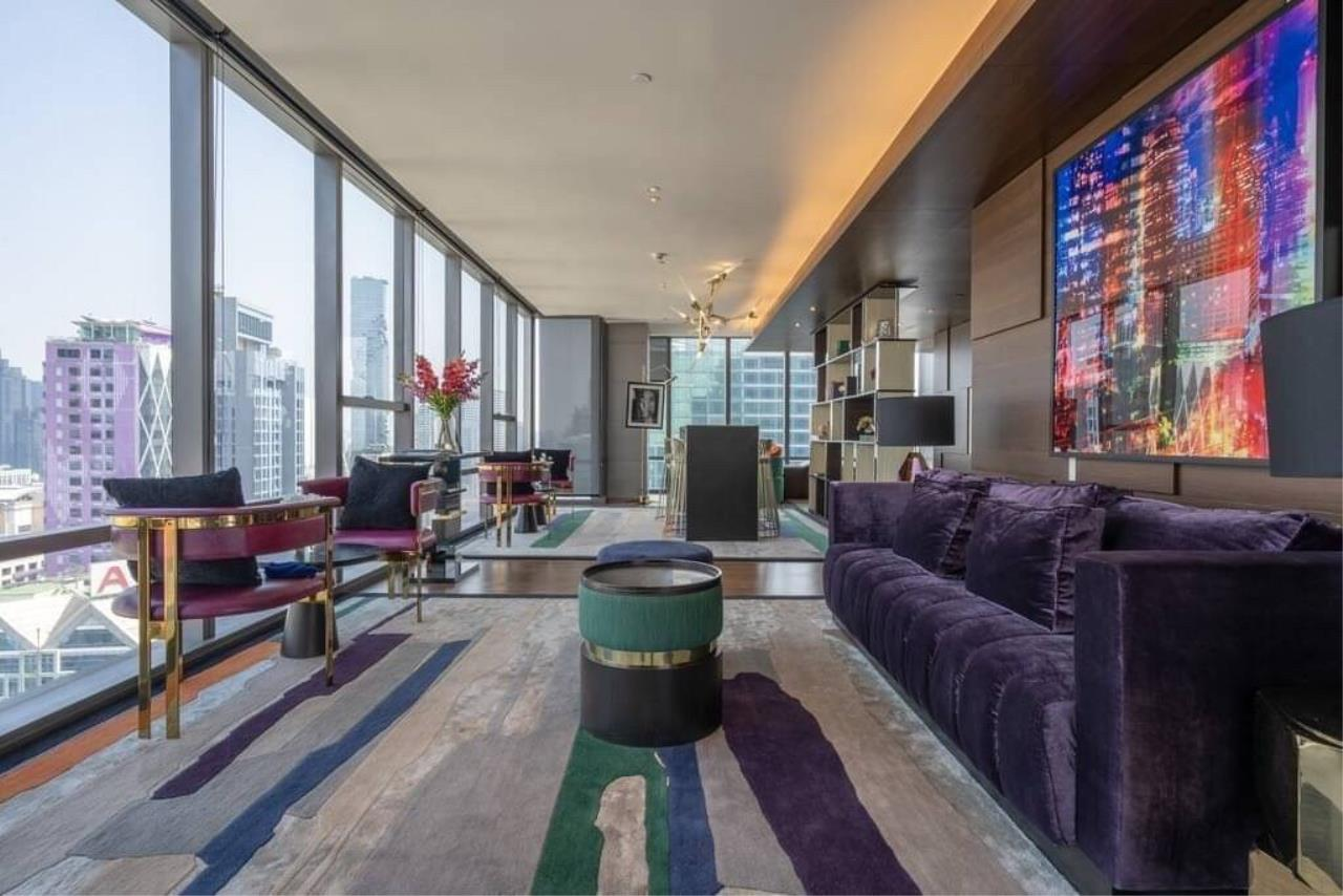 Agent - Phapayawarin Agency's The Bangkok Sathorn for Rent, 2 Bedrooms 2 Bathrooms, 130 Sq.m., BTS Surasak 14