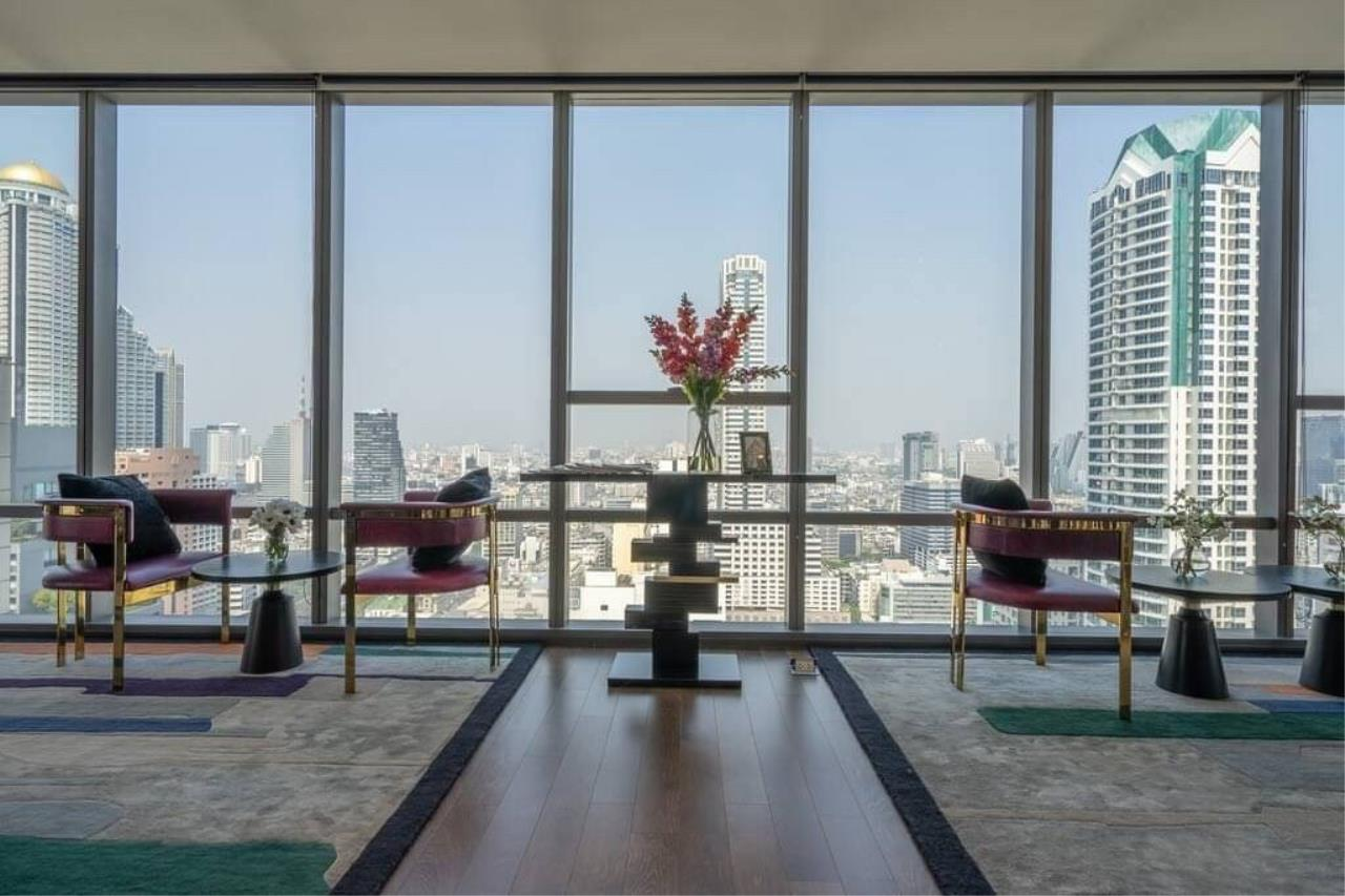 Agent - Phapayawarin Agency's The Bangkok Sathorn for Rent, 2 Bedrooms 2 Bathrooms, 130 Sq.m., BTS Surasak 17