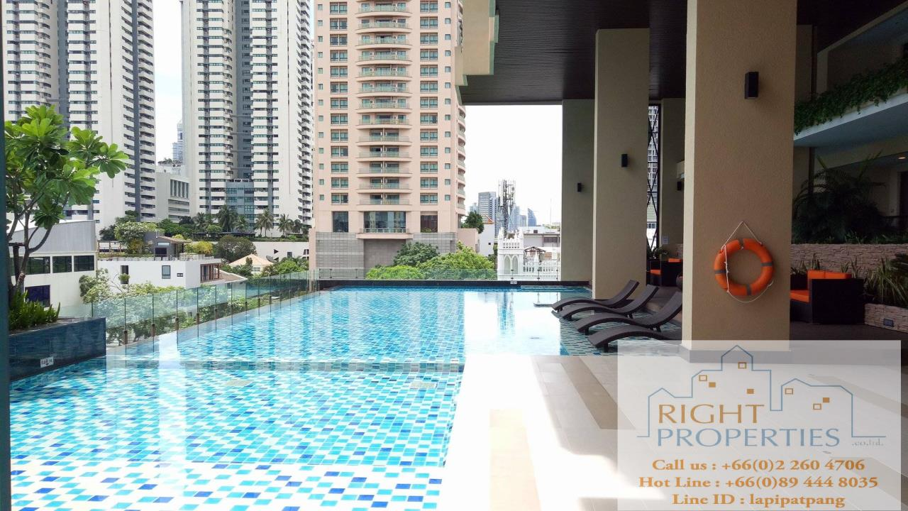 Right Properties Agency's Urgent sale!! Brand new project on Sathorn. Close to Convent road, BNH hospital. Great deal 9