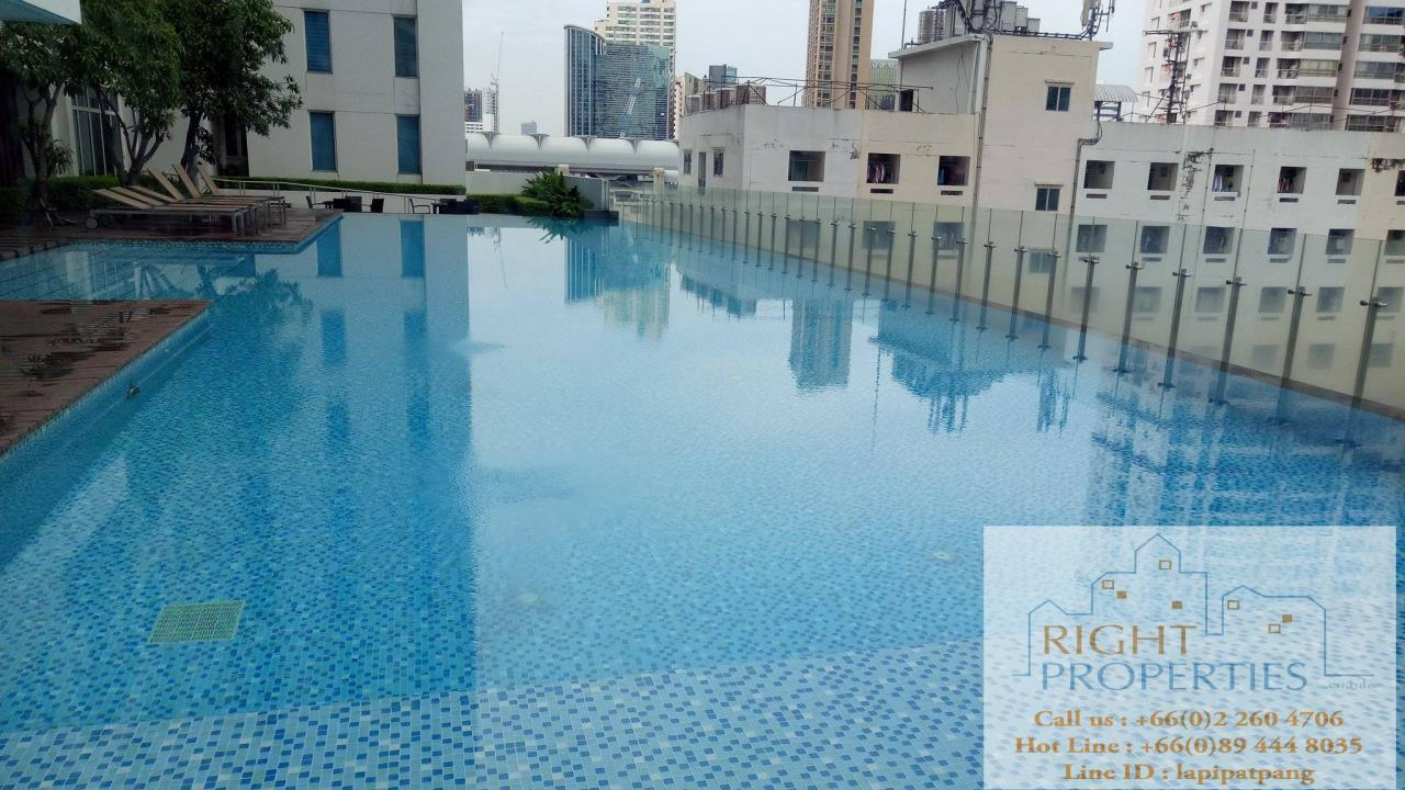 Right Properties Agency's Spectacular view 2 bedrooms on Phayathai. Still located on Sukhumvit BTS 10