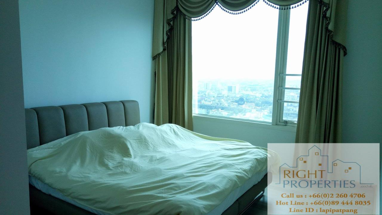 Right Properties Agency's Spectacular view 2 bedrooms on Phayathai. Still located on Sukhumvit BTS 4