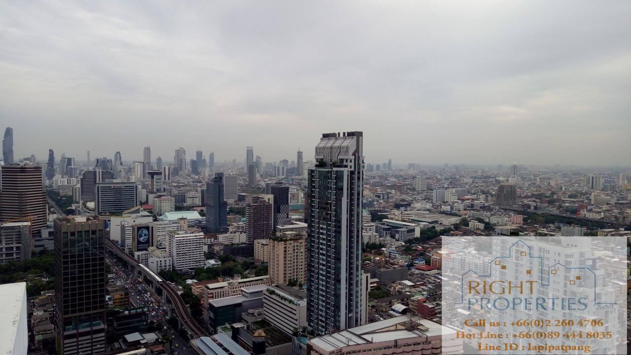 Right Properties Agency's Spectacular view 2 bedrooms on Phayathai. Still located on Sukhumvit BTS 8