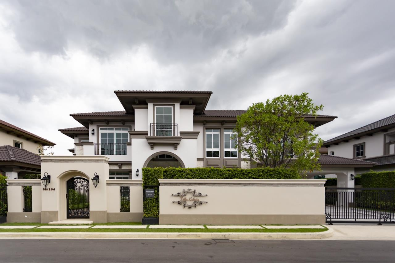 Hawk Eyes Property Bangkok Co.,Ltd. Agency's A luxury 4 bedrooms 5 bathrooms single house with fully furnish for rent in Bang Na k.m.7 1