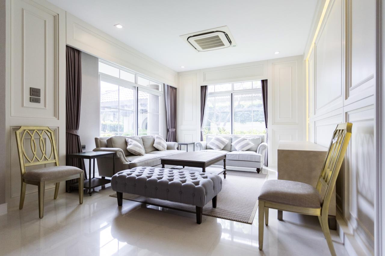Hawk Eyes Property Bangkok Co.,Ltd. Agency's A luxury 4 bedrooms 5 bathrooms single house with fully furnish for rent in Bang Na k.m.7 4