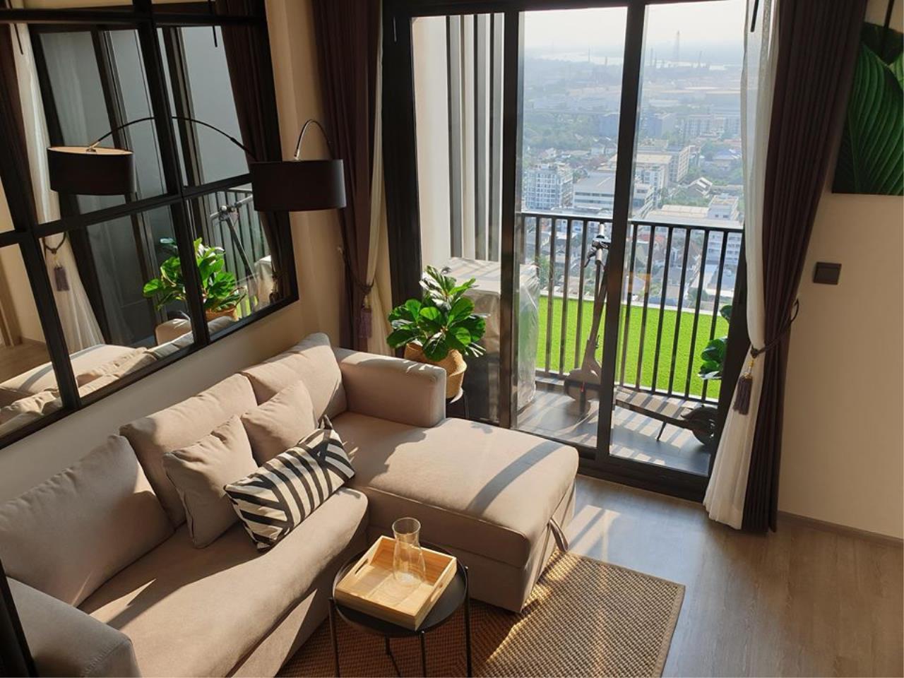 Hawk Eyes Property Bangkok Co.,Ltd. Agency's Brand new 1 bedroom for rent at The Line Sukhumvit 101 1