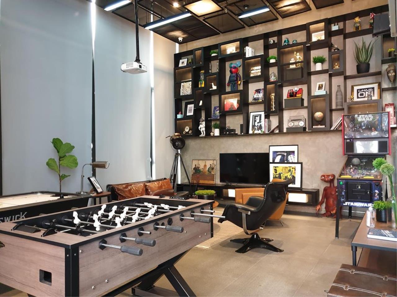 Hawk Eyes Property Bangkok Co.,Ltd. Agency's Brand new 1 bedroom for rent at The Line Sukhumvit 101 10