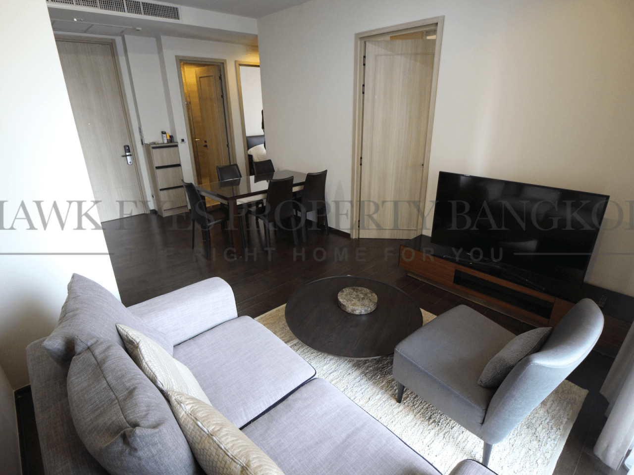 Hawk Eyes Property Bangkok Co.,Ltd. Agency's 2 bedrooms 2 bathrooms in Prompong, The XXXIX for rent 1