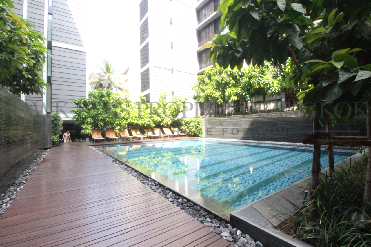 Hawk Eyes Property Bangkok Co.,Ltd. Agency's A nice 2 bedrooms 2 bathrooms for rent at Mode Sukhumvit 61  1