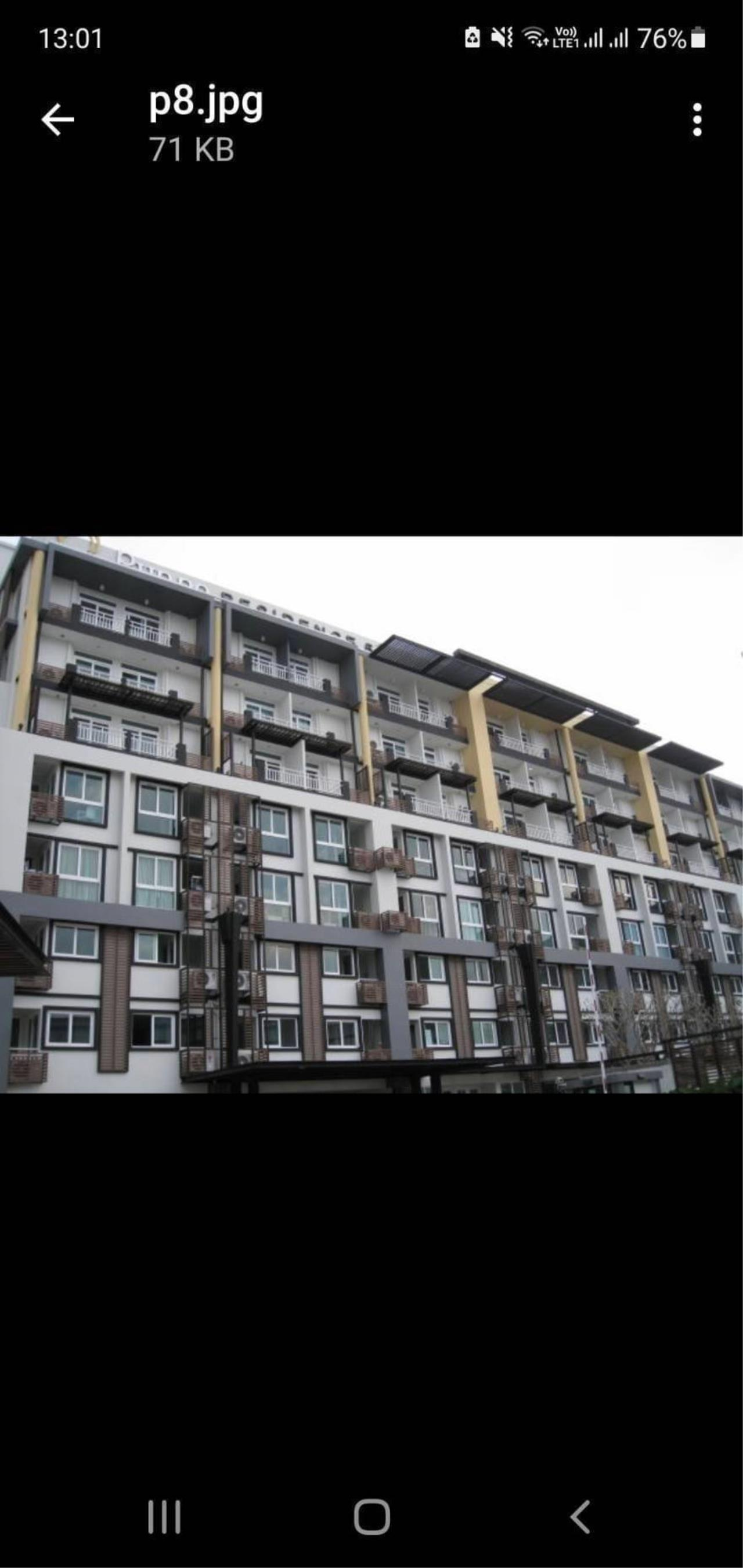 yum.66property@gmail.com Agency's Condo for rent 1 bedroom fully furnished Located on the 7th floor, punna 5, Huay Kaew,  3