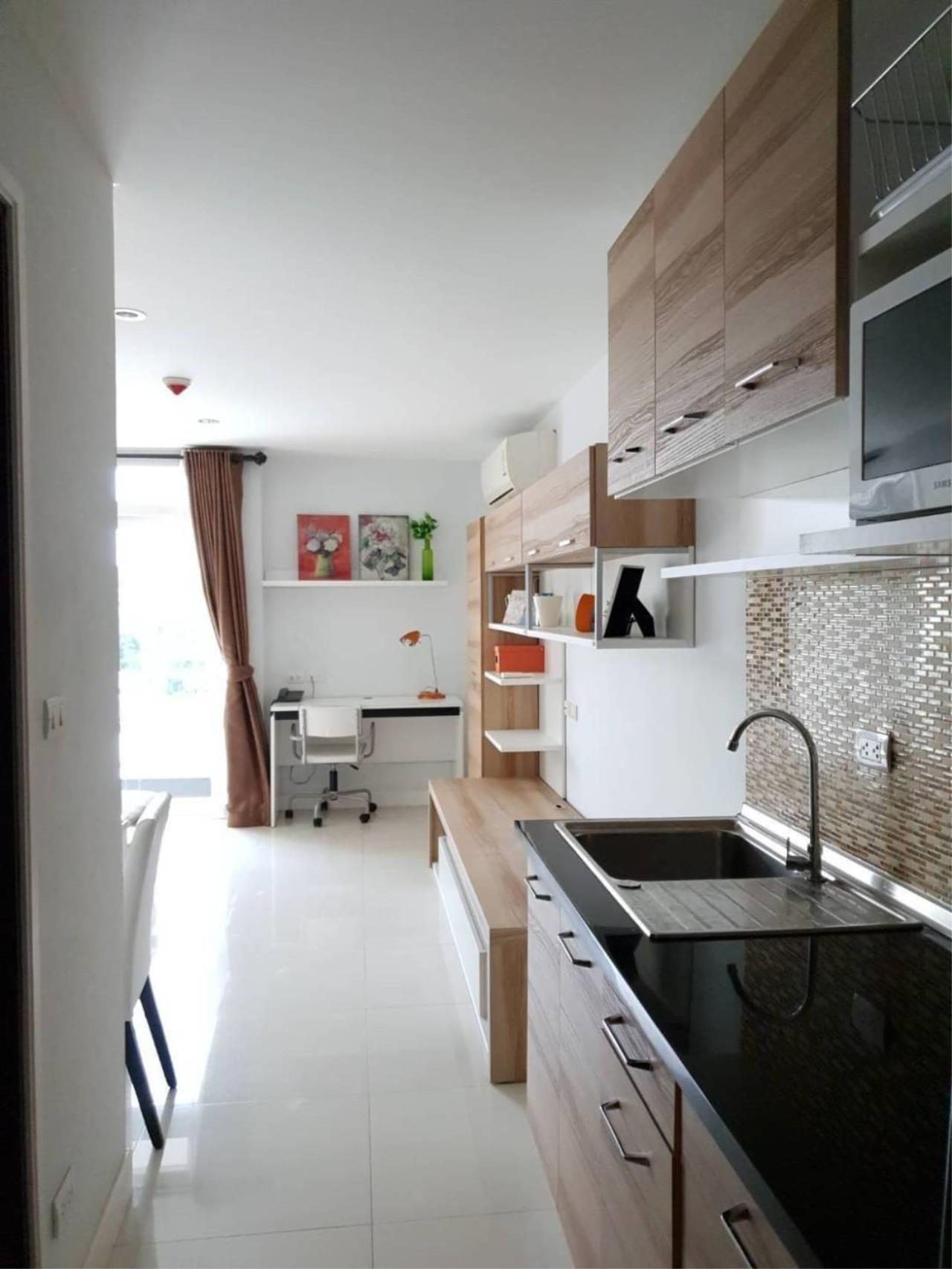 yum.66property@gmail.com Agency's Condo for rent 1 bedroom fully furnished Located on the 7th floor, punna 5, Huay Kaew,  4