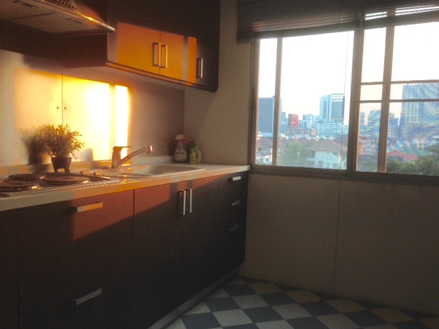RE/MAX All Star Realty Agency's Very large 2-Bed Condo at hip town BTS Ari sell only 5.1m baht (or rent 22,800 baht) – Areesamphan Park 11