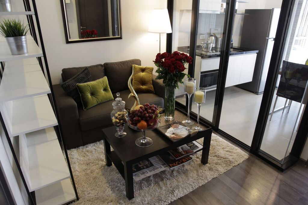 RE/MAX All Star Realty Agency's Superb, fully furnished Park East condo for rent 18,000 Baht at On Nut BTS – Basepark East (Soi 77) 1