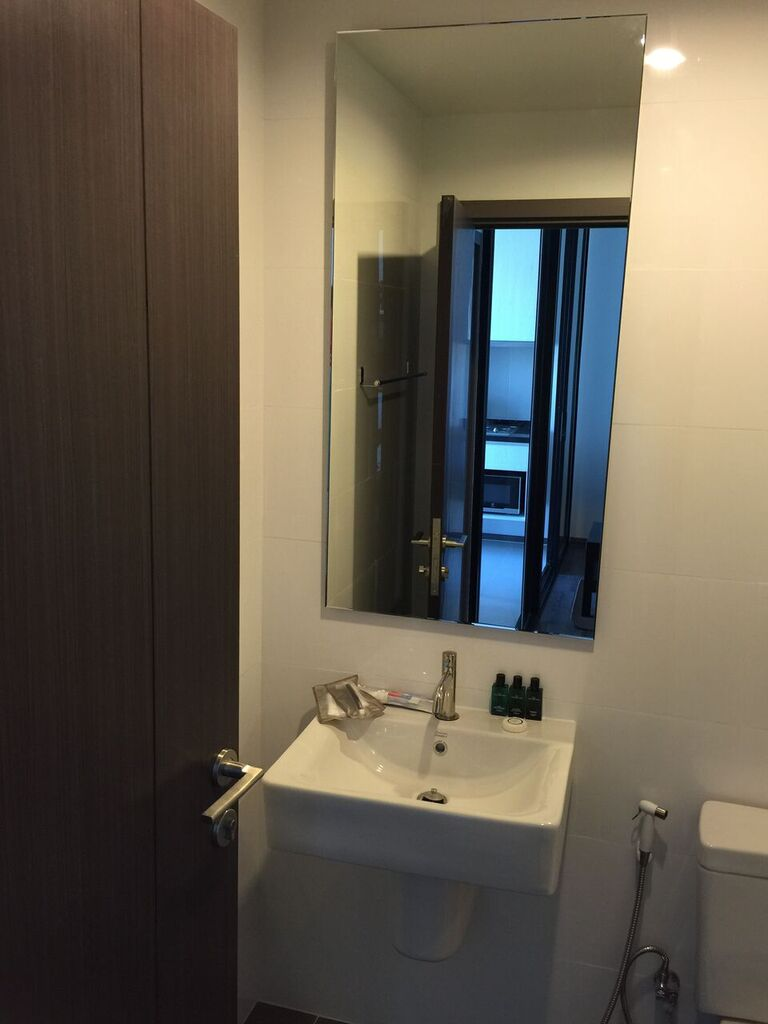 RE/MAX All Star Realty Agency's Superb, fully furnished Park East condo for rent 18,000 Baht at On Nut BTS – Basepark East (Soi 77) 18
