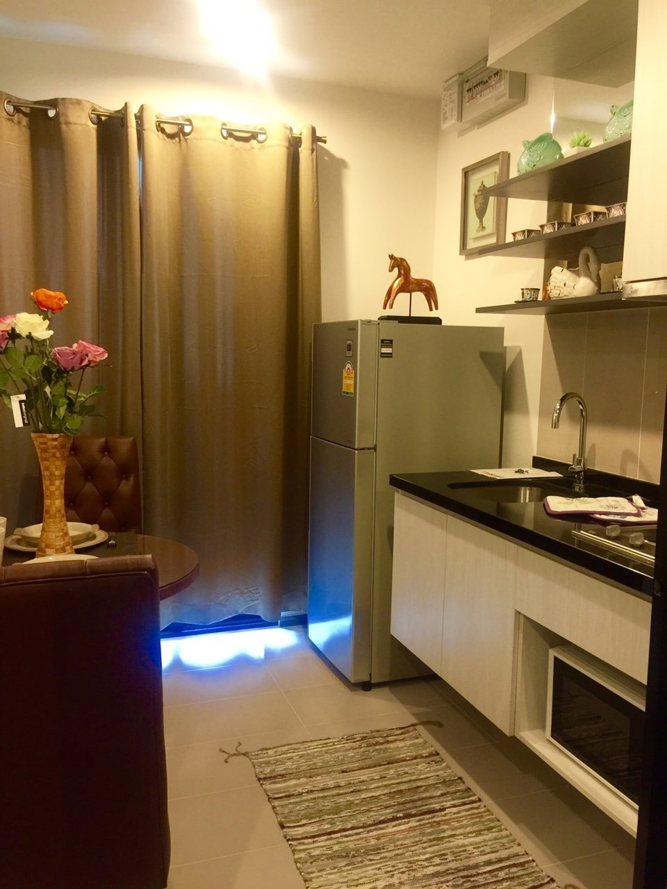 RE/MAX All Star Realty Agency's Ful furnished one bedder for rent 13,800 Baht at On Nut BTS – Basepark East (Soi 77) 6