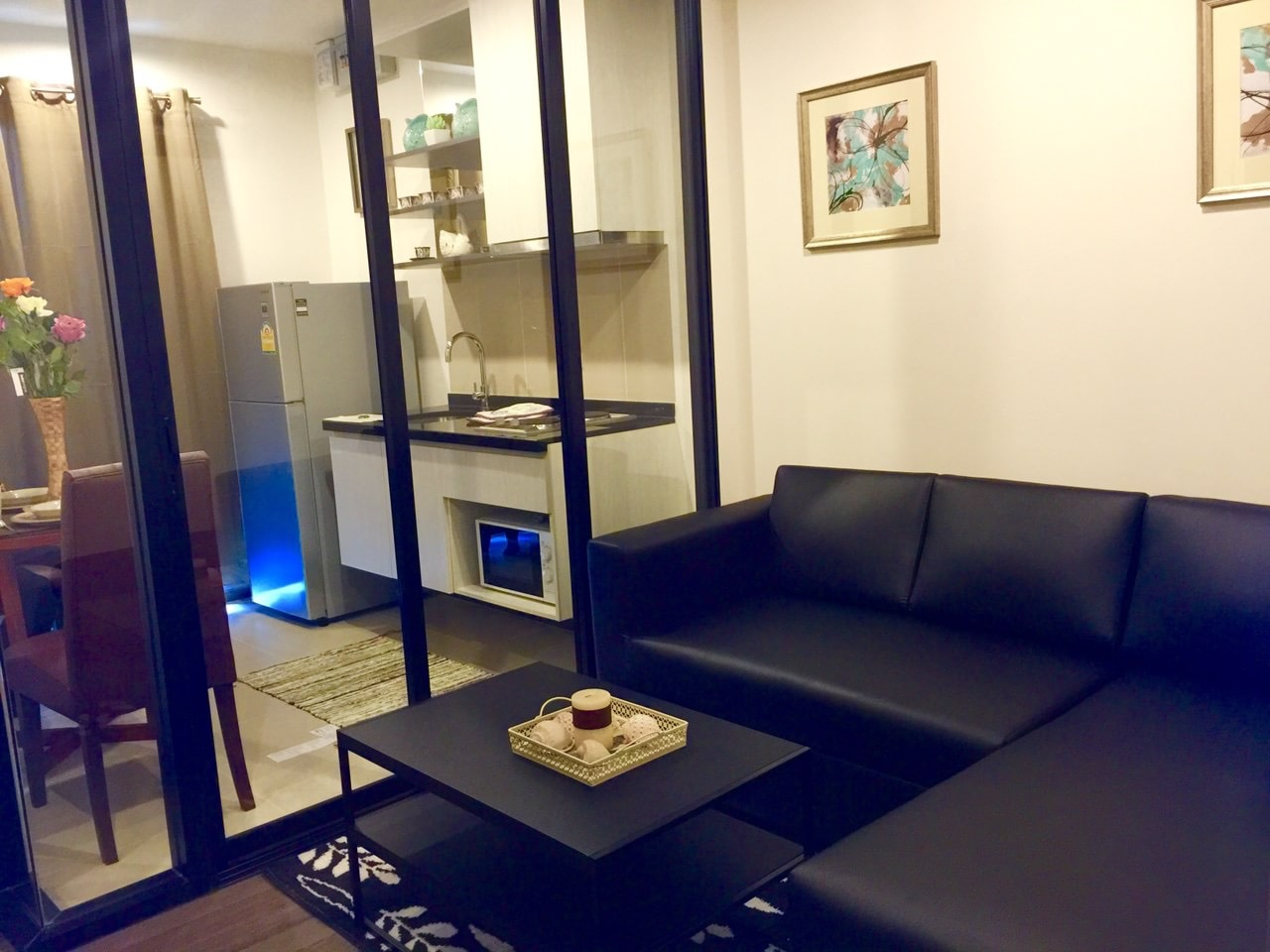 RE/MAX All Star Realty Agency's Ful furnished one bedder for rent 13,800 Baht at On Nut BTS – Basepark East (Soi 77) 11