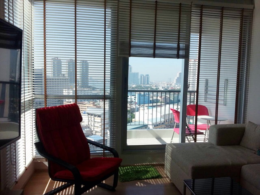 RE/MAX All Star Realty Agency's Breathtaking views new 2Br condo for rent 45,000 at Rhythm Sathorn 21 1