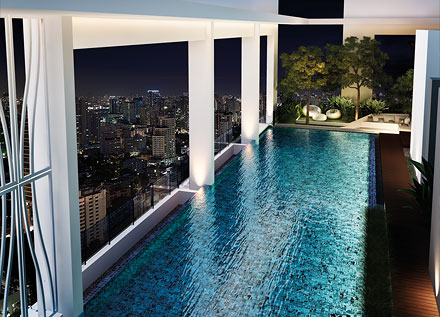 RE/MAX All Star Realty Agency's Breathtaking views new 2Br condo for rent 45,000 at Rhythm Sathorn 21 20