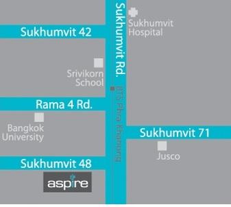RE/MAX All Star Realty Agency's New condo for rent 16,000 baht at Aspire Sukhumvit Soi 48 (Phra Khanong) 7