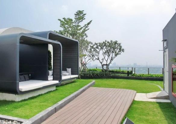 RE/MAX All Star Realty Agency's New condo for rent 16,000 baht at Aspire Sukhumvit Soi 48 (Phra Khanong) 9