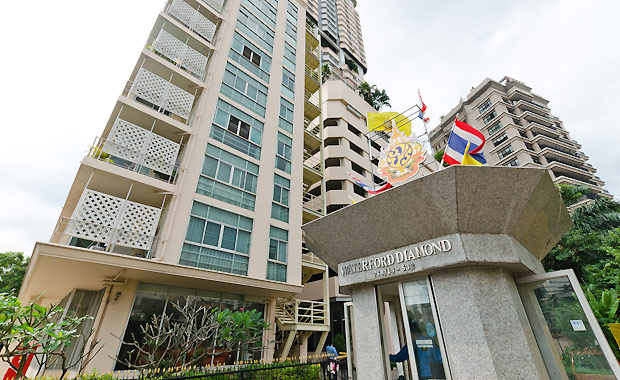 RE/MAX All Star Realty Agency's Well maintained 2-Bed Condo for rent/sale at Phrom Phong BTS (Sukhumvit Soi 30) – Waterford Diamond 13