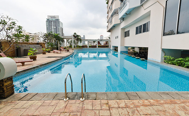 RE/MAX All Star Realty Agency's Well maintained 2-Bed Condo for rent/sale at Phrom Phong BTS (Sukhumvit Soi 30) – Waterford Diamond 9